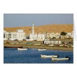 Omán, región de Sharqiya, Sur. Ciudad de Ayajh, os Tarjeta De Felicitación
