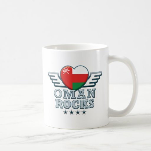 Oman Rocks v2 Classic White Coffee Mug