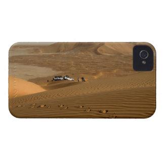 Oman, Rub Al Khali desert, driving on the dunes Blackberry Bold Case