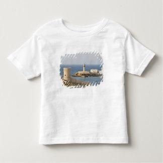 Oman, Sharqiya Region, Sur. Towers of Al Ayajh Toddler T-shirt