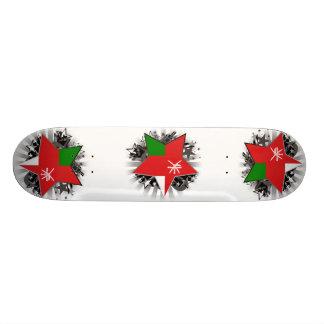 Oman Star Custom Skateboard