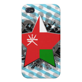 Oman Star iPhone 4/4S Cover