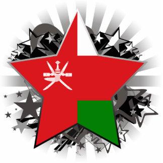 Oman Star Standing Photo Sculpture