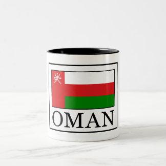 Oman Two-Tone Coffee Mug