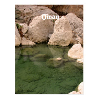 Oman Watering Hole Postcards