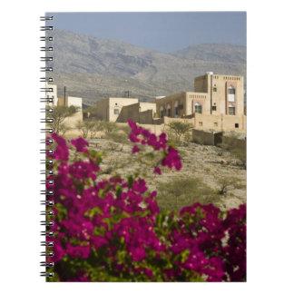 Oman, Western Hajar Mountains, Al Hamra. Town Spiral Notebook