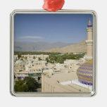 Oman, Western Hajar Mountains, Nizwa. Nizwa Ornament