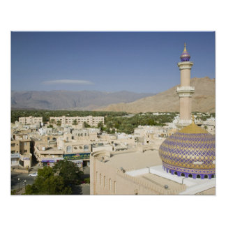 Oman, Western Hajar Mountains, Nizwa. Nizwa Poster