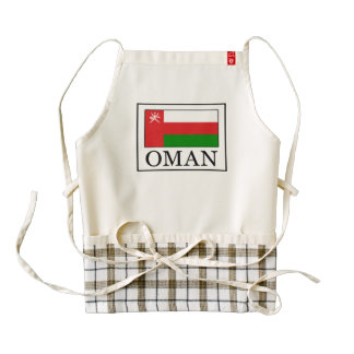 Oman Zazzle HEART Apron