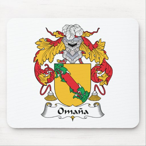 Omana Family Crest Mouse Pad