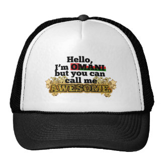 Omani, but call me Awesome Hats