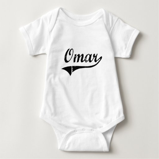 Omar Classic Style Name Shirt