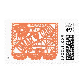 Omar Hearts Carolina 2 Postage Stamp