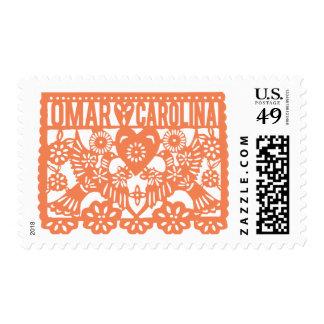 Omar Hearts Carolina Stamps