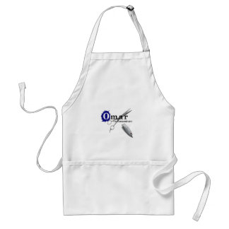 Omar the Extraordinaire Adult Apron