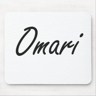 Omari Artistic Name Design Mouse Pad