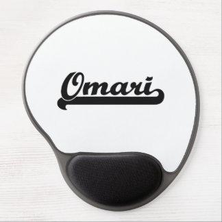 Omari Classic Retro Name Design Gel Mouse Pad