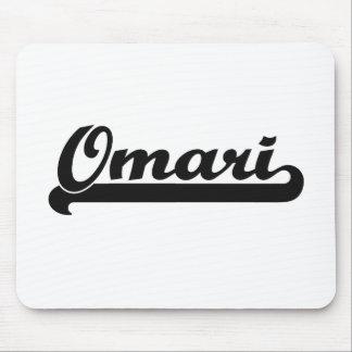Omari Classic Retro Name Design Mouse Pad