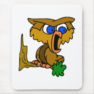 Omari Owl Mouse Pad