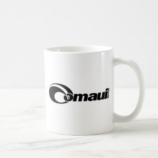 OMaui Classic White Coffee Mug