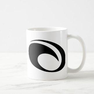 OMaui Wave Logo Classic White Coffee Mug