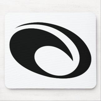 OMaui Wave Logo Mouse Pad