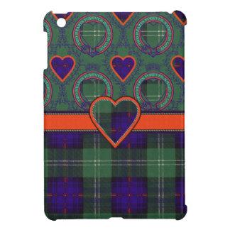 O'May clan Plaid Scottish kilt tartan iPad Mini Cover