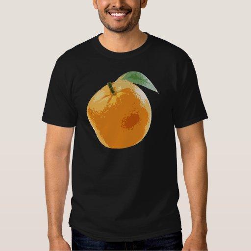 Ombligo anaranjado Valencia Naranja de la fruta Playeras