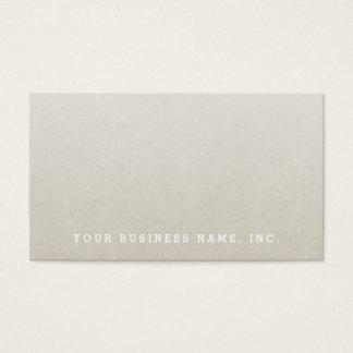 Ombre (82 - 32) Faux Paper Texture Business Card