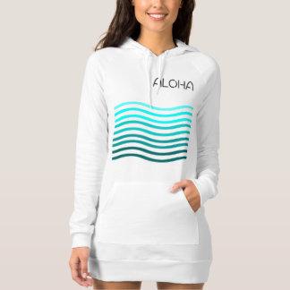 Ombre Aloha Waves Dress