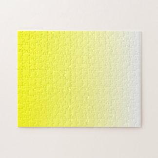 Ombre amarillo rompecabeza
