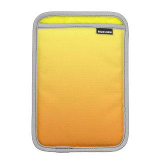 Ombre amarillo y anaranjado funda para iPad mini