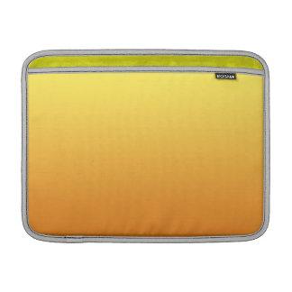 Ombre amarillo y anaranjado funda macbook air