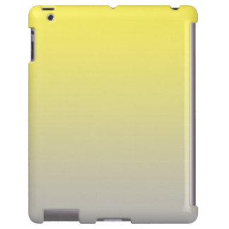 Ombre amarillo y gris