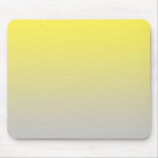 """""""Ombre amarillo y gris"""" Alfombrilla De Ratones"""