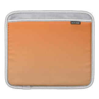 Ombre anaranjado fundas para iPads