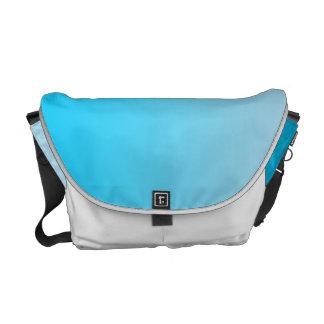 Ombre azul bolsa de mensajeria
