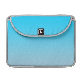 Ombre azul funda para macbook pro