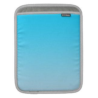 Ombre azul manga de iPad