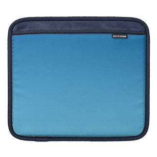 Ombre azul marino fundas para iPads