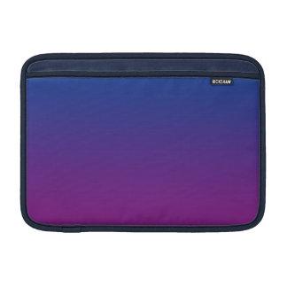 Ombre azul marino y púrpura funda  MacBook
