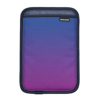 Ombre azul marino y púrpura funda para iPad mini