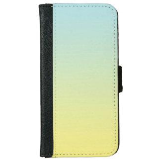 """""""Ombre azul y amarillo"""" Carcasa De iPhone 6"""
