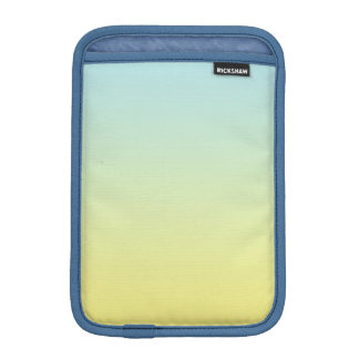 Ombre azul y amarillo funda iPad mini
