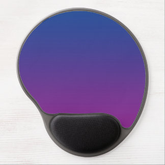 """""""Ombre azul y púrpura"""" Alfombrillas De Raton Con Gel"""