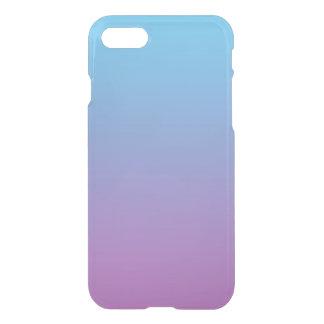 Ombre azul y púrpura funda para iPhone 7