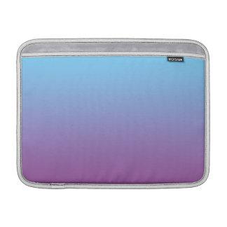 Ombre azul y púrpura fundas macbook air