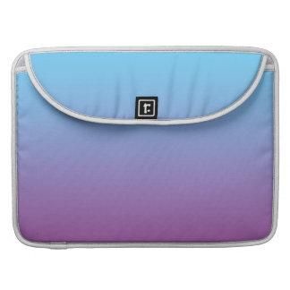Ombre azul y púrpura fundas macbook pro