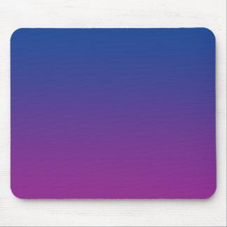 """""""Ombre azul y púrpura"""" Alfombrilla De Ratones"""