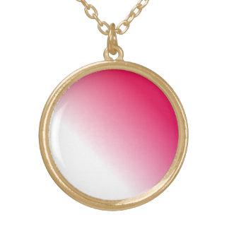 Ombre blanco de color rosa oscuro joyerías